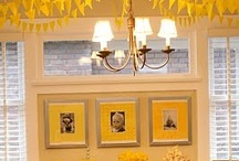 {Yellow} Party / Yellow party ideas and inspiration on www.partyfrosting.com