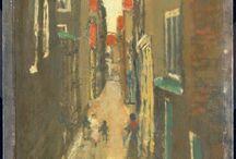 Breitner / Nederlandse schilder en fotograaf uit de 19e eeuw