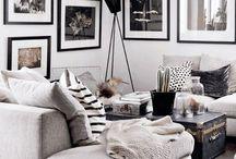 Homy black & white