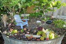 green / jardines y flores