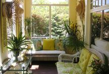 Furnishing A Sun Room / All things Sun Rooms