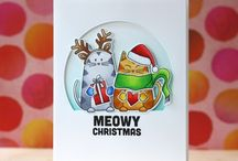 Cards- Cats at Christmas