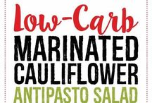 Marinated cauliflower & antipasto