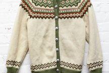 свитер норвежская вязка