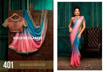 2613 Addaein 3 Festival Wear Heavy Work Sarees