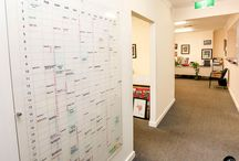 Jaarplanner muur