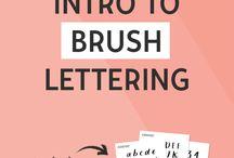 Lettering Techniques