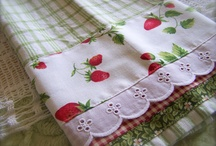 Gingham Love. / I just adore gingham. Anything with gingham on it. It could be paper or fabric.