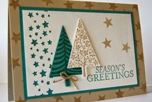 Kartki na Boże Narodzenie / kartki ręcznie robione