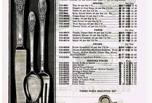 Silver Plate Patterns