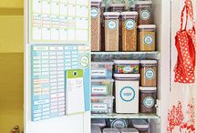 Kitchen Storage & Organizers / I love my kitchen clutter free and obsessively organized. Some gadgets, tools, tips and tricks for that perfect kitchen.