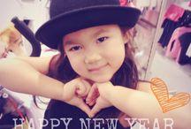 Little miss Pinya / Happy new year