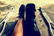 crutch life / by Krystal Jamerson
