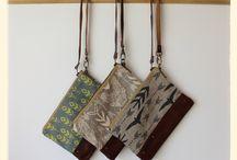 Textile design clutch
