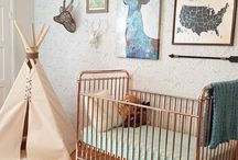| NURSERY | / Find some inspiration for your bambino's nursery with these pics of our cots and change tables in some awesome spaces.