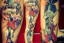 Disney Villain Tattoo Idea