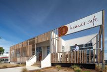 r e t a i l / Prebuilt has installed many modular retail buildings including McDonalds and Hanna's Cafe at Melbourne Airport.