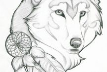 tattoo's van wolven