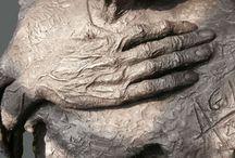 esculturas cemento