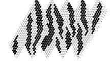 Crochet bead ball schema