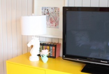 tv stand ideas / by Cheya Grant