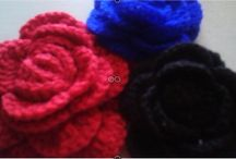 Flores tejidas