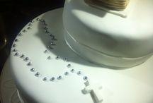 торт к Крещению Артема