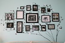 Portrait Wall Displays / by Kristi Pennington