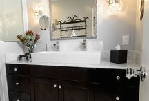 Bathroom Design 123 / A transitional bathroom design from southern California bathroom remodeler One Week Bath.