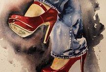 High heels shoes,converse girls/boys