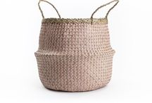 Baskets & Planters / Our Baskets & Planters are an adorable storage solution for your living room decor. Stylish and Functional, they'll home anything from botanics, magazines, bathroom delicates and pesky toys.