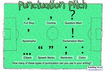 National Punctuation Day - 9/24 / by Charity Preston @ Organized Classroom