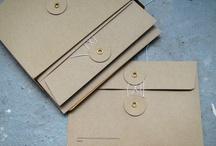 Enveloppen / Ideeën om je geboortekaartjes en trouwkaarten mooi te verzenden.