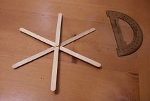 """Popsicle Stick Icicle- """"Star."""""""