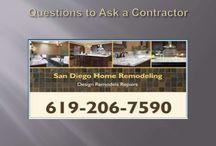 Home Remodel Contractors San Diego