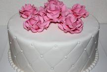 Taart / Lekker voor bruiloften of voor feestjes en snel en makkelijk maken