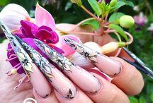 stilettos / #nails #stiletto#stilettonails #nailart