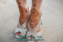 Semi Traditional Henna Designs for Modern Bride