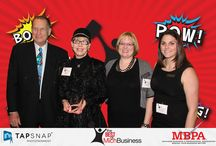 """Best of Michigan Business Award / Enjoy photos from the awards dinner for Best of Michigan Business! Wigs 4 Kids was chosen as a 2015 """"Nonprofit Beacon"""" for our work serving the children of Michigan. We were 1 of 13 community nonprofits selected to receive this honor which lends us credibility and will help us reach more families in need."""
