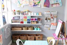 Kid's Art & Craft Room