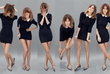 Alexa Chung's Style / I think she is a very stylish woman :)