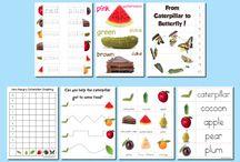 Homeschool: Hungry Caterpillar