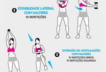 Exercícios de ginástica
