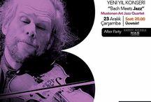 Bach Meets Jazz yeni yıl konseri Next Level'da !