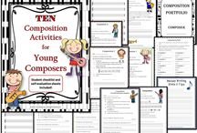 Music Composition / Music composition writing, ideas, tips and worksheets for the music classroom.  ♫ Join the Resource Library for FREE music worksheets and ideas: http://goo.gl/l0ZgXD