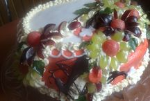 Ciasta / Uwielbiam słodkości , oraz ogromną przyjemność dawania.