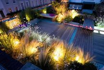 Evening in the Garden / Inspired by our own candle range, pictures of intimate outdoor living spaces lit by candlelight...