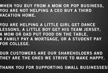 We Support Small Biz!