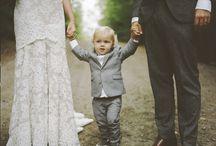 Wedding with baby photography