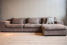 Sofa's by Old inn / Lederen, stoffen of houten banken. U vindt het bij old inn.